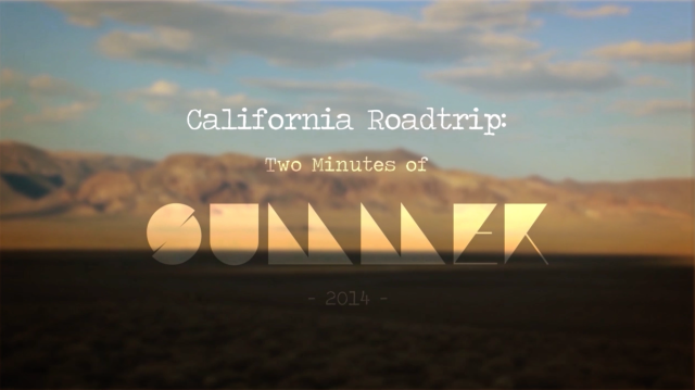 California Roadtrip Cover